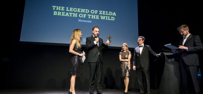 Zelda Breath of the Wild è Game of the Year