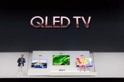 Samsung, ecco la nuova gamma di TV per il 2018