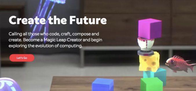 Magic Leap ha un portale per gli sviluppatori AR