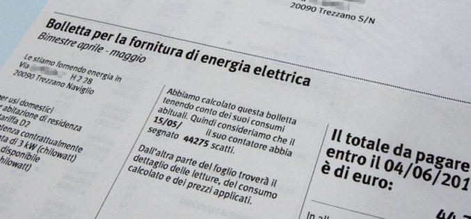 Aumento bollette energia: i servizi di vendita tra gli oneri che incidono di più