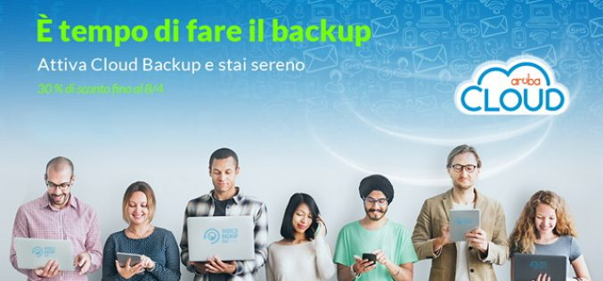 Aruba celebra il World Backup Day