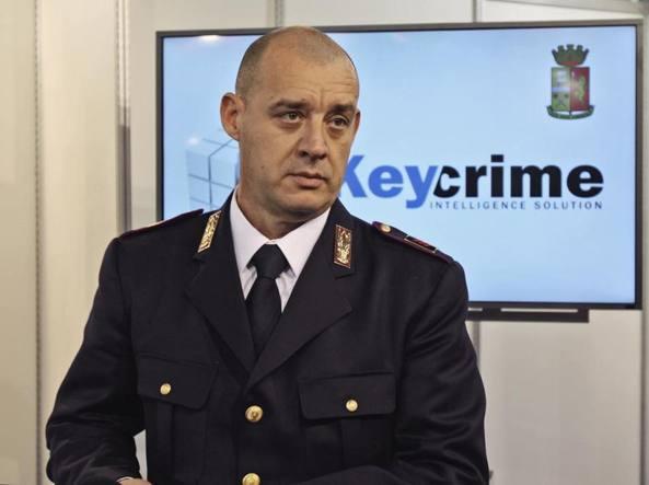Mario Venturi Keycrime Software che prevede le rapine a #WechangeIT