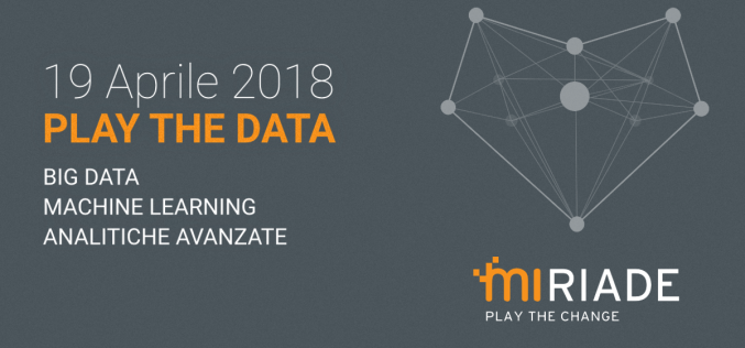 Play The Data, l'evento per imparare a conoscere e gestire i Big Data
