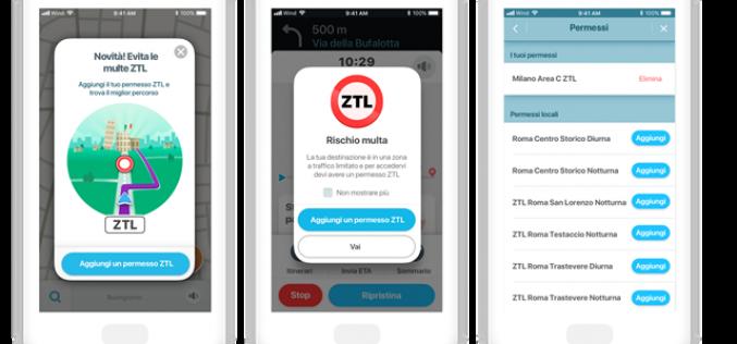 Waze: unica app a introdurre la funzionalità ZTL Pass per le Zone a traffico limitato