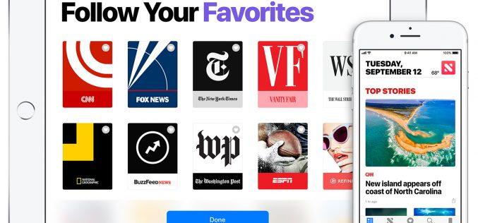 Nel futuro di Apple un servizio di notizie a pagamento