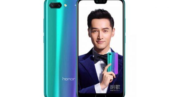 Honor 10 arriva in Cina e copia l'iPhone X