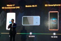Huawei lancerà nel 2019 il suo primo smartphone 5G