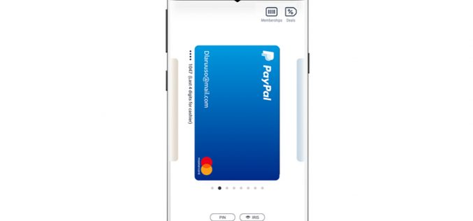 Samsung Pay supporta PayPal