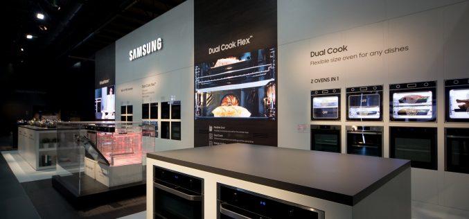 Salone del mobile di Milano, Samsung trasforma la cucina