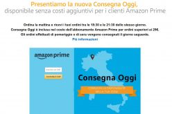 Amazon lancia Consegna Oggi