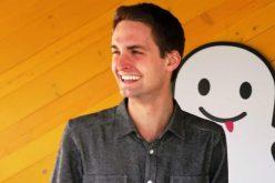 """Evan Spiegel di Snapchat: """"Facebook avrebbe dovuto copiarci sulla privacy"""""""