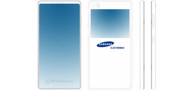 Samsung pensa a uno schermo sul retro per il prossimo Galaxy