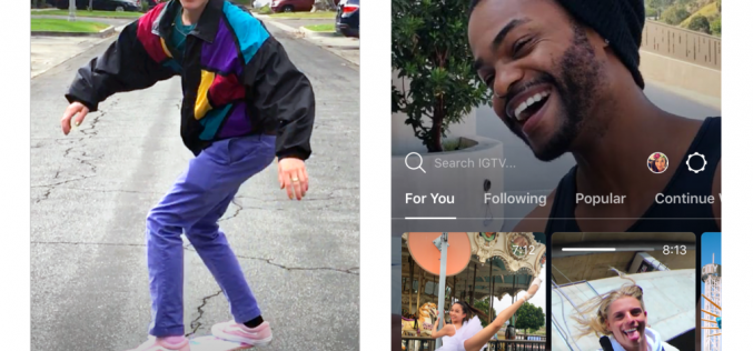 Instagram presenta IGTV, un'app per sfidare YouTube