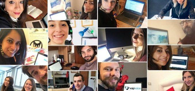 Smart Working Day in casa VoipVoice