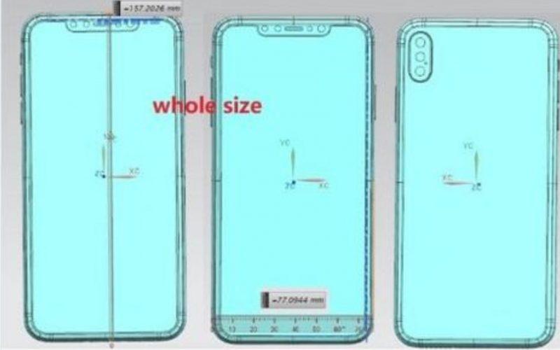 Online gli schermi dei nuovi iPhone X