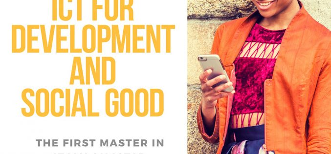 Master ICT for Development and Social Good