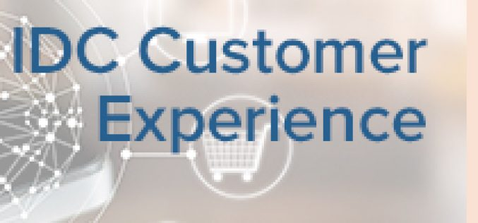 IDC Customer Experience Conference 2018