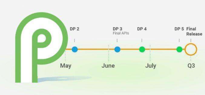 Google rilascia la beta finale di Android P