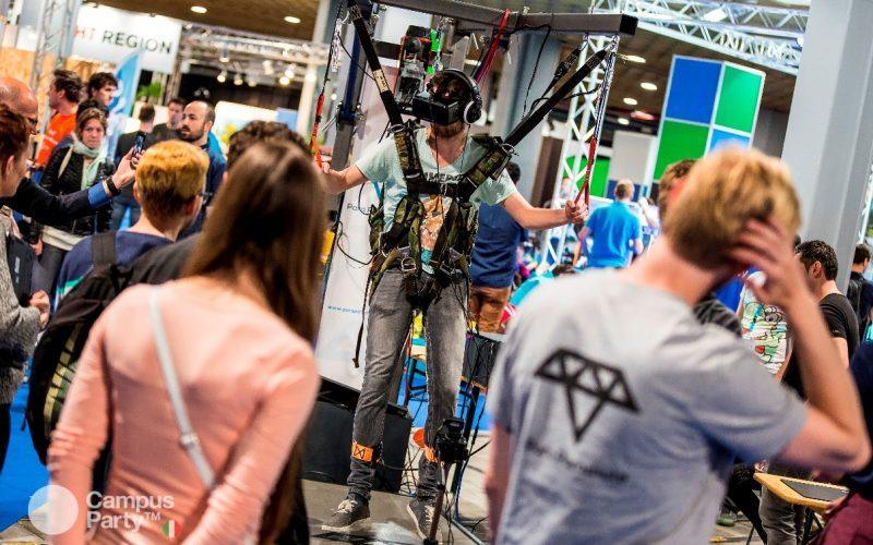 L'Area Experience a Campus Party: il parco di divertimenti digitale è qui