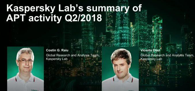 L'analisi di Kaspersky Lab sulle minacce del secondo trimestre 2018