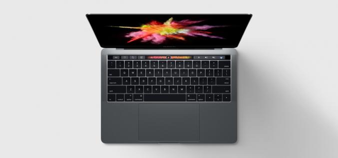 Apple aggiorna la linea di MacBook Pro con TouchBar