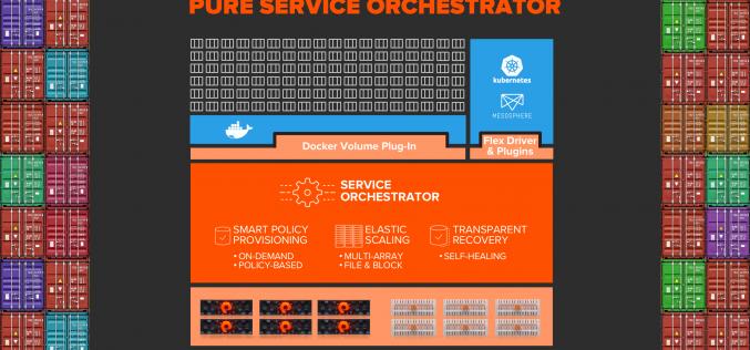 Pure Storage presenta Pure Service Orchestrator