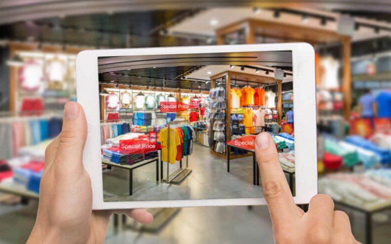Virtual e augmented reality, se la digitalizzazione entra in negozio
