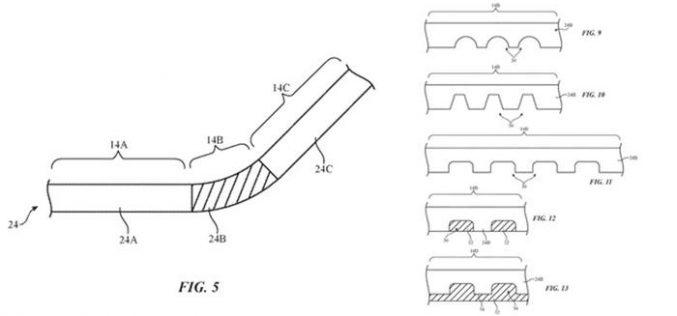 Apple: c'è un nuovo brevetto per l'iPhone pieghevole