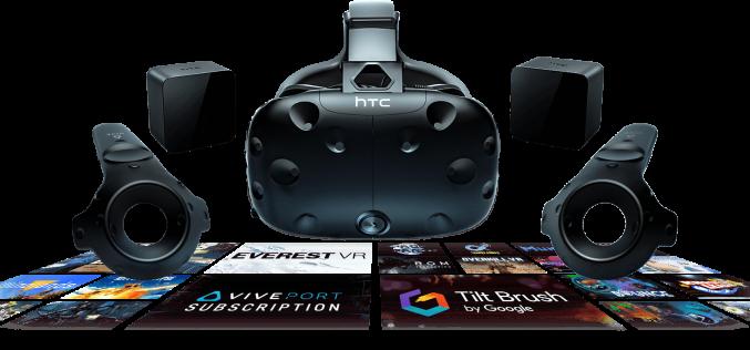 HTC punta all'adozione VR di massa