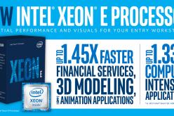 Intel lancia il nuovo processore Intel Xeon E-2100