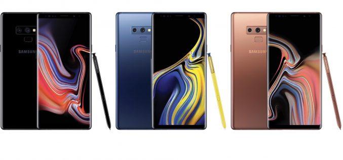 Queste tre foto anticipano il Galaxy Note9