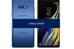 Nuovo colore per il Note9: Deep Sea Blue
