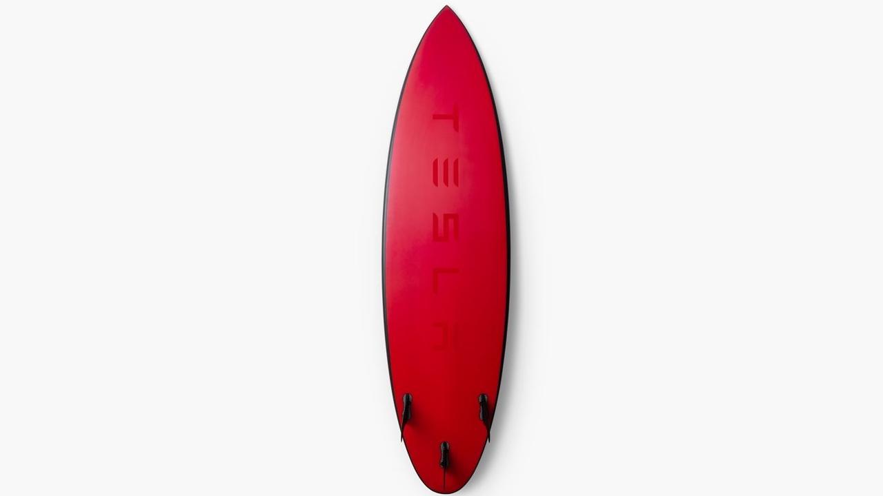 tesla tavola da surf