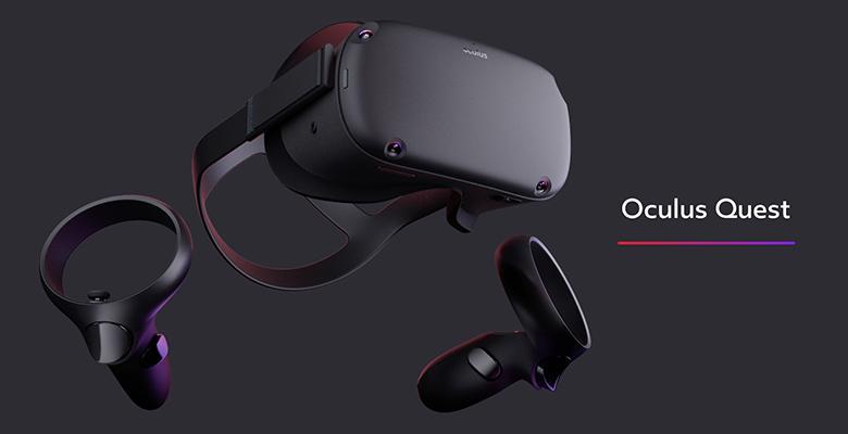 Oculus Quest, il visore VR stand alone di Facebook