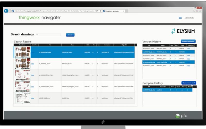 PTC ed Elysium annunciano un'app per la validazione e il design di prodotto per ThingWorx Navigate