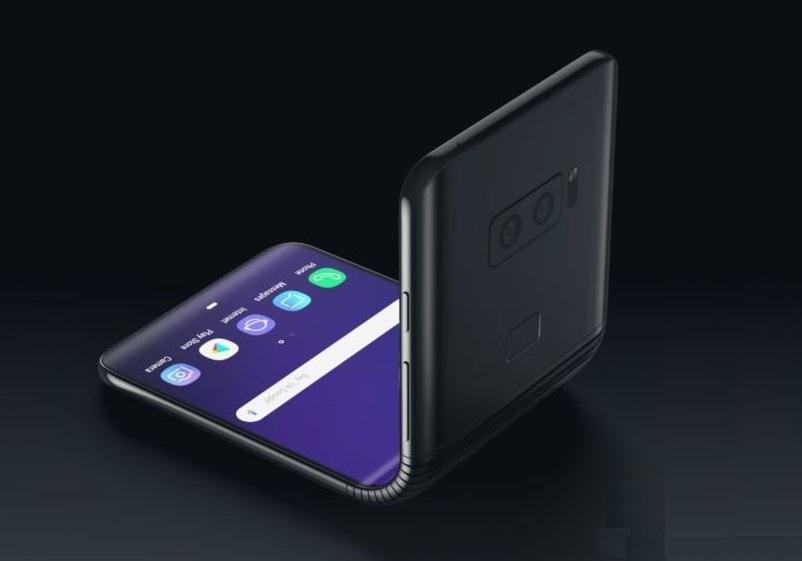 Galaxy F, lo smartphone pieghevole di Samsung
