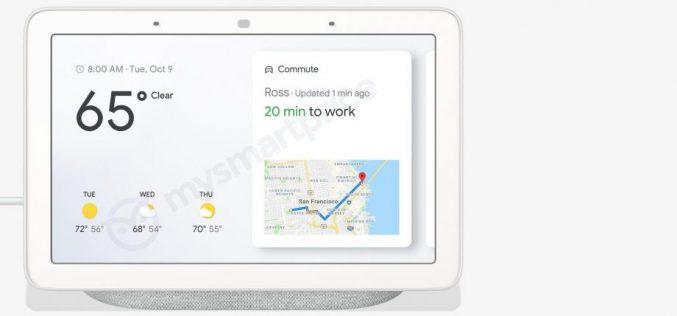 Google Home Hub, la risposta di Big G ad Amazon Echo Show