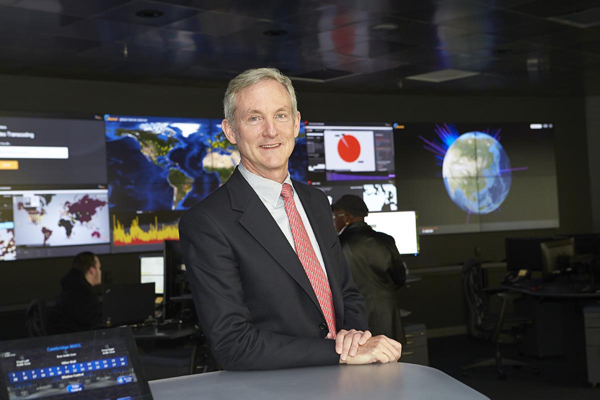 Tom Leighton riceve il Marconi Prize