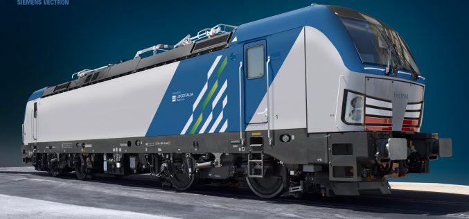 """LocoItalia: svelata la livrea delle locomotive elettriche Bombardier E494 """"TRAXX"""" e Siemens E191 """"Vectron"""""""