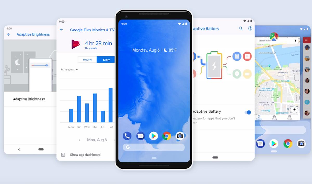 android pie risparmio batteria