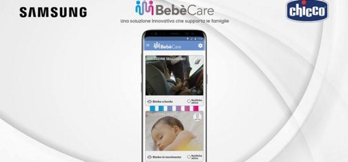 Il seggiolino salva-bebè diventa obbligatorio. Samsung presenta Bebècare