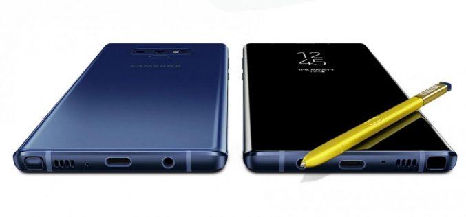 Ecco il Galaxy Note9
