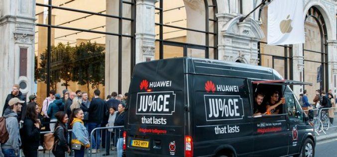 Perché Huawei prende in giro Apple