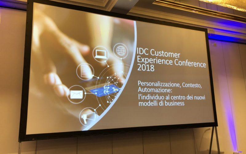 IDC Customer Experience 2018, l'individuo al centro dei nuovi modelli di business
