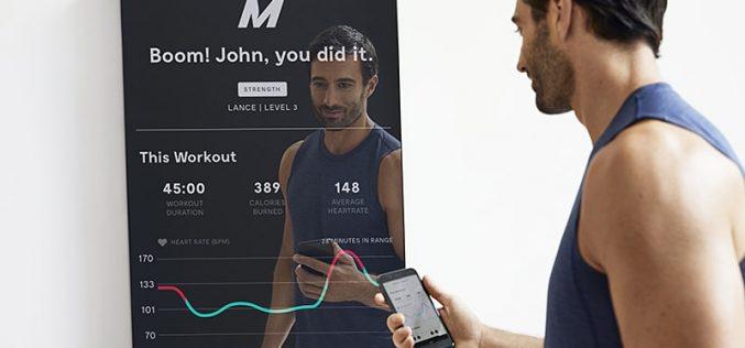 Mirror, lo specchio smart fatto apposta per il fitness