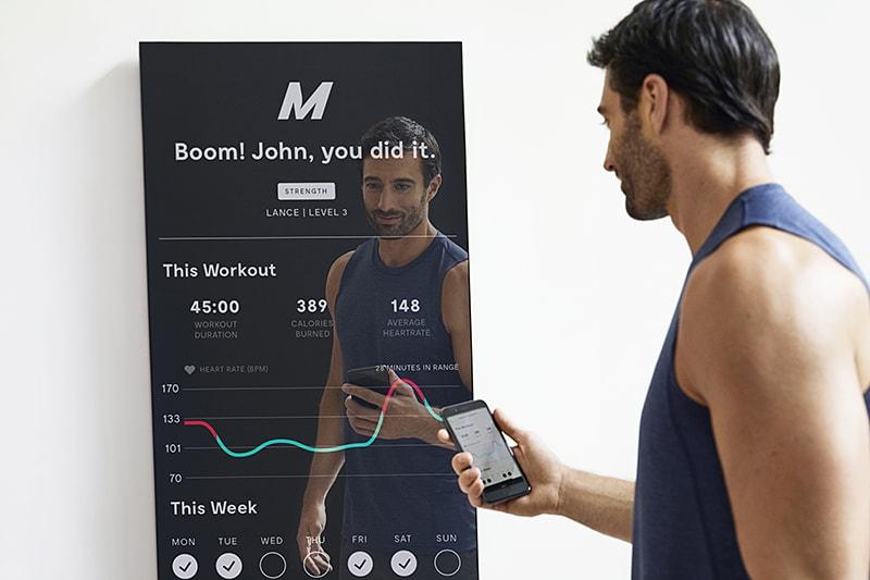 Mirror, lo specchio smart per il fitness