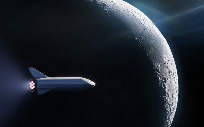 SpaceX ha già il primo passeggero per un viaggio sulla Luna