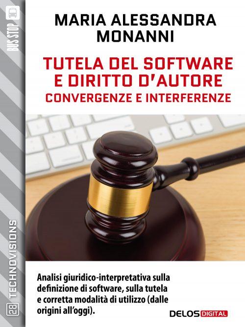nuovo libro su tutela del software e diritto d'autore