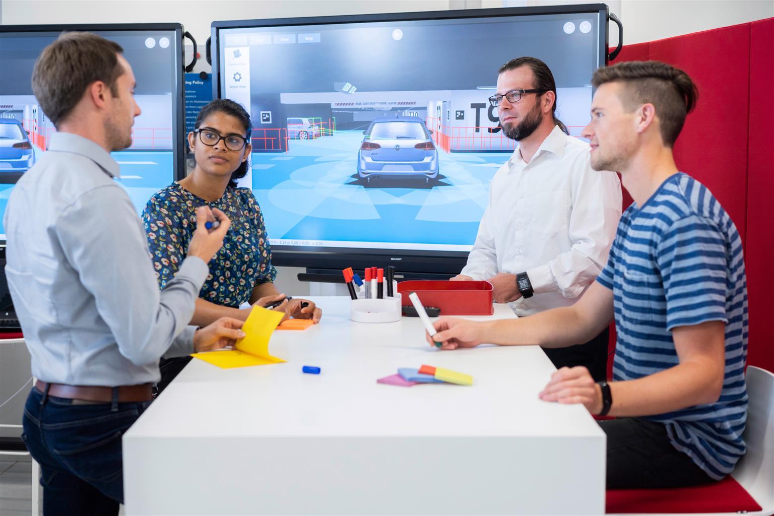 volkswagen usa la realtà virtuale