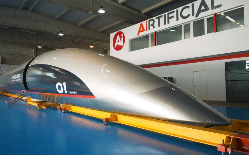 Hyperloop, il treno del futuro di Musk, sarà inaugurato a breve